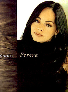 Cristina Perera - female dancer, choreographer, dance trainer